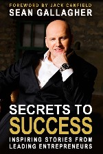 Press Release - Sean Gallagher releases his first book, Secrets to Success: Inspiring Stories from Leading Entrepreneurs
