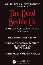 Book Launch - The Dead Beside Us