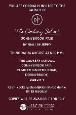 Book Launch - The Cookery School, Donnybrook Fair