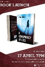 BOOK LAUNCH - A CONSPIRACY OF LIES