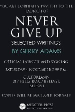 Book Signing - Gerry Adams TD - Never Give Up