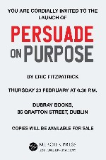 Book Launch - Persuade on Purpose
