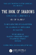 Book Launch - Book of Shadows by E.R. Murray