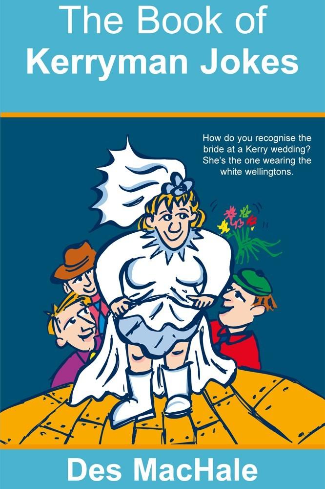 Book of Kerryman Jokes author Des MacHale