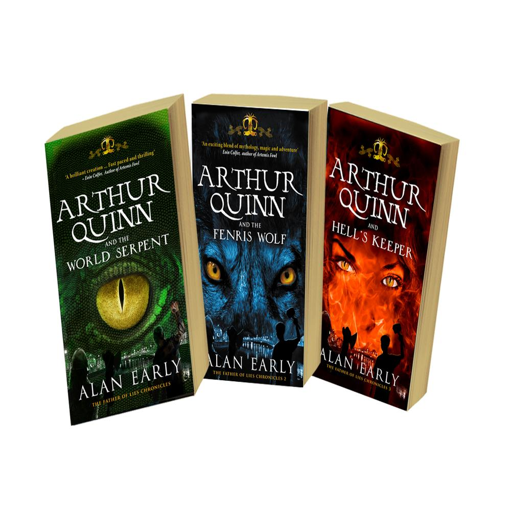 Arthur Quinn And The Father Of Lies: Theplete Trilogy